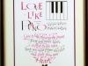 071 倉成綾子 『Love is like playing the piano』