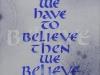 090 黒川 典子 「BELIEVE」