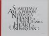 116 渋谷 登志子 「a hand to hold and heart to understand」