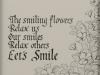 120 島津 方子 「Let's Smile」