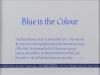 194 八景 由規子 「Blue is the Colour」