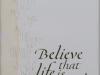 264 米田 佐枝子 「Believe」
