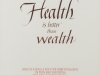 186 八景 由規子 「Health is better than wealth」