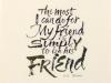 047 岡本 絵里 「ただ友として」
