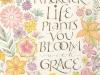 063 加藤 恵津子 「Wherever life plants you, bloom with grace.」